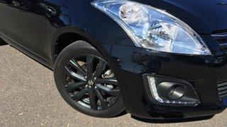 2016 Suzuki Swift FZ MY15 GL Navigator Black 4 Speed Automatic Hatchback.