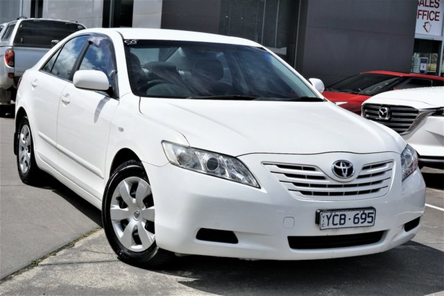 Used Toyota Camry ACV40R Altise Phillip, 2008 Toyota Camry ACV40R Altise White 5 Speed Automatic Sedan