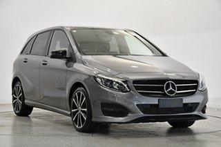 2018 Mercedes-Benz B-Class W246 808+058MY B180 DCT Grey 7 Speed Sports Automatic Dual Clutch