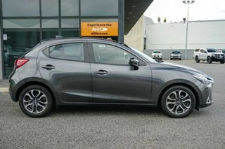 2018 Mazda 2 DJ2HAA Genki SKYACTIV-Drive Grey 6 Speed Sports Automatic Hatchback.