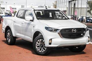 2021 Mazda BT-50 TFR40J XT 4x2 White 6 Speed Sports Automatic Utility.