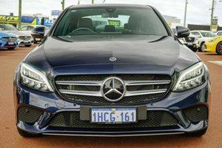 2019 Mercedes-Benz C-Class W205 800MY C200 9G-Tronic Black 9 Speed Sports Automatic Sedan