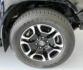 2016 Toyota Hilux GUN126R SR5 Double Cab Black 6 Speed Manual Utility