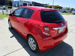 2014 Toyota Yaris NCP131R SX Red 4 Speed Automatic Hatchback