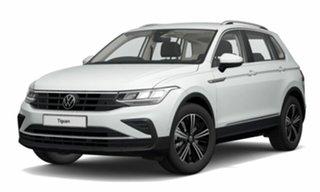 2021 Volkswagen Tiguan 5N MY22 110TSI Life DSG 2WD White 6 Speed Sports Automatic Dual Clutch Wagon