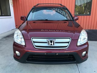 2005 Honda CR-V RD MY2005 Sport 4WD Red 5 Speed Automatic Wagon.