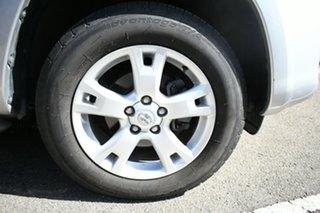 2010 Toyota RAV4 ACA33R 08 Upgrade Cruiser (4x4) Silver 4 Speed Automatic Wagon.
