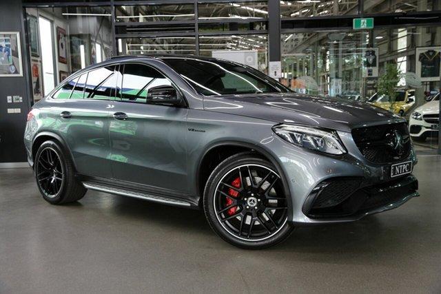 Used Mercedes-Benz GLE-Class C292 MY808 North Melbourne, 2017 Mercedes-Benz GLE-Class C292 MY808 GLE63 AMG Coupe SPEEDSHIF Grey 7 Speed Auto Sportshift Wagon
