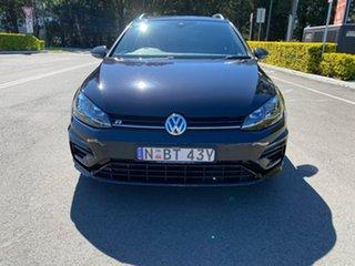 2017 Volkswagen Golf 7.5 MY18 R DSG 4MOTION Wolfsburg Edition Black 7 Speed.