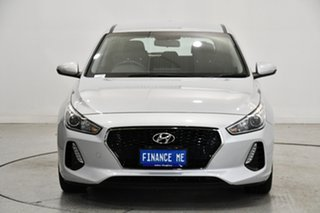 2019 Hyundai i30 PD2 MY19 Active Silver 6 Speed Sports Automatic Hatchback.