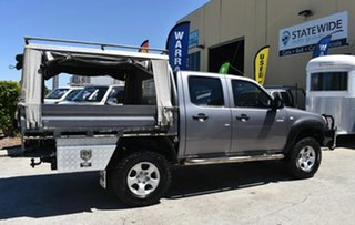 2011 Mazda BT-50 09 Upgrade Boss B3000 DX (4x4) Grey 5 Speed Manual Dual Cab Chassis