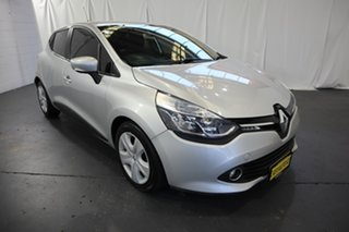 2013 Renault Clio IV B98 Expression EDC Silver 6 Speed Sports Automatic Dual Clutch Hatchback.