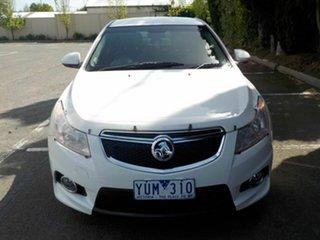 2012 Holden Cruze JH MY12 SRi V White 6 Speed Automatic Hatchback.
