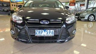 2012 Ford Focus LW MkII Sport PwrShift Black 6 Speed Sports Automatic Dual Clutch Hatchback.