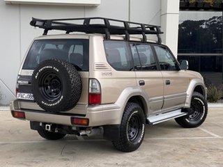 2002 Toyota Landcruiser Prado VZJ95R VX Beige 4 Speed Automatic Wagon