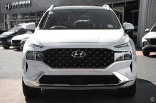 2021 Hyundai Santa Fe Tm.v3 MY21 Highlander White 8 Speed Sports Automatic Wagon.