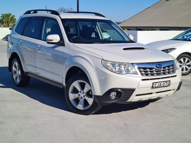 Used Subaru Forester S3 MY12 XT AWD Liverpool, 2012 Subaru Forester S3 MY12 XT AWD Pearl White 4 Speed Sports Automatic Wagon