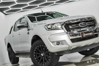 2017 Ford Ranger PX MkII MY18 XLT 3.2 Hi-Rider (4x2) Silver 6 Speed Automatic Crew Cab Pickup.