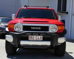 2014 Toyota FJ Cruiser GSJ15R MY14 Red 5 Speed Automatic Wagon.