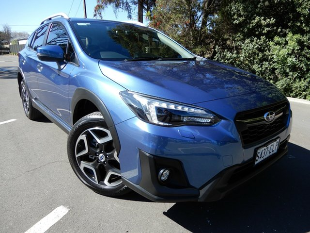 Used Subaru XV G5X MY19 2.0i-S Lineartronic AWD Glenelg, 2019 Subaru XV G5X MY19 2.0i-S Lineartronic AWD Blue 7 Speed Constant Variable Wagon