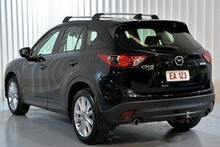 2014 Mazda CX-5 KE1021 MY14 Akera SKYACTIV-Drive AWD Black 6 Speed Sports Automatic Wagon