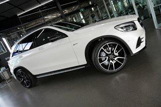 2019 Mercedes-Benz GLC-Class X253 809MY GLC43 AMG 9G-Tronic 4MATIC White 9 Speed Sports Automatic.