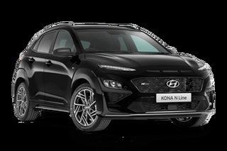 2021 Hyundai Kona OS.V4 N Line Premium Phantom Black 7 Speed Automatic SUV