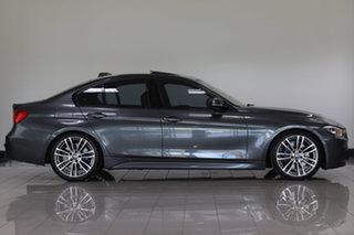 2013 BMW 320i F30 MY0813 320i Mineral Grey 8 Speed Sports Automatic Sedan