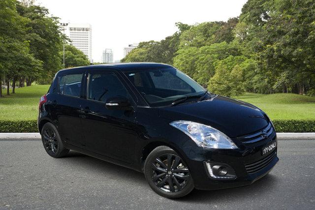 Used Suzuki Swift FZ MY15 GL Navigator Paradise, 2016 Suzuki Swift FZ MY15 GL Navigator Black 4 Speed Automatic Hatchback