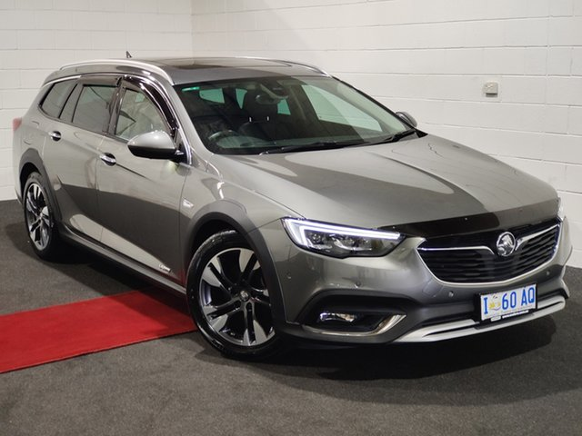Used Holden Calais ZB MY18 V Tourer AWD Glenorchy, 2018 Holden Calais ZB MY18 V Tourer AWD Cosmic Grey 9 Speed Sports Automatic Wagon