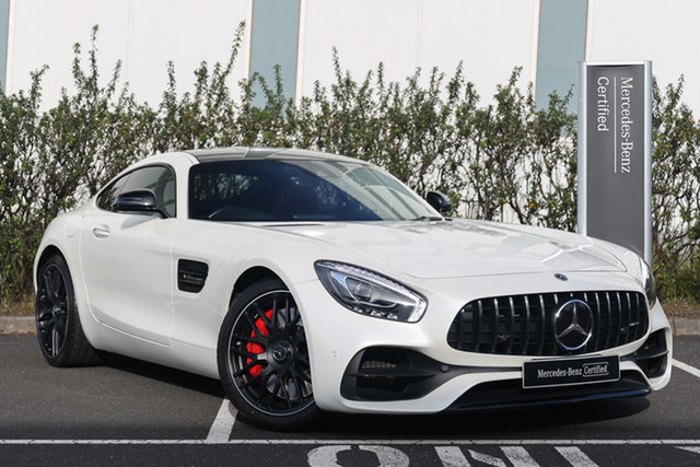 Certified Pre-Owned Mercedes-Benz AMG GT C190 808+058MY S SPEEDSHIFT DCT Mulgrave, 2018 Mercedes-Benz AMG GT C190 808+058MY S SPEEDSHIFT DCT Designo Diamond White Bright 7 Speed