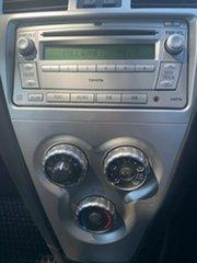 2008 Toyota Yaris NCP93R MY09 YRS Snow Cap White 4 Speed Automatic Sedan