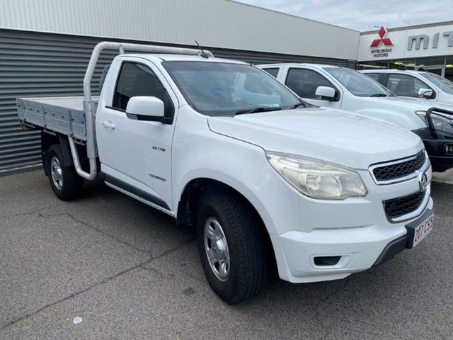 Used Holden Colorado RG MY13 LX 4x2 Gladstone, 2012 Holden Colorado RG MY13 LX 4x2 White 6 Speed Sports Automatic Cab Chassis