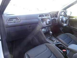 2020 Volkswagen Tiguan 5N MY21 140TDI Highline DSG 4MOTION Allspace Pure White 7 Speed Automatic