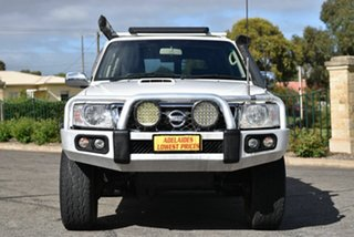2011 Nissan Patrol GU 7 MY10 ST White 4 Speed Automatic Wagon.