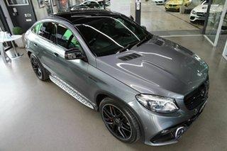 2017 Mercedes-Benz GLE-Class C292 MY808 GLE63 AMG Coupe SPEEDSHIF Grey 7 Speed Auto Sportshift Wagon