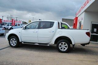 2015 Mitsubishi Triton MN MY15 GLX-R (4x4) White 5 Speed Automatic 4x4 Double Cab Utility.