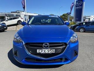 2017 Mazda 2 DL2SAA Neo SKYACTIV-Drive Blue 6 Speed Sports Automatic Sedan.