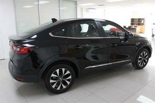 2021 Renault Arkana MY21 1.3T Metallic Black EDC Hatchback.