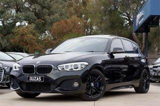 2018 BMW 1 Series F20 LCI-2 125i M Sport Black 8 Speed Sports Automatic Hatchback