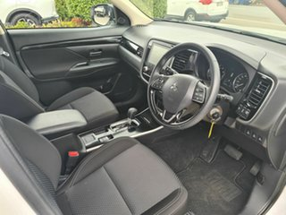 2020 Mitsubishi Outlander ZL MY21 ES 2WD White 6 Speed Constant Variable Wagon