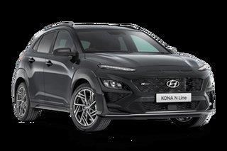 2021 Hyundai Kona OS.V4 N Line Premium Dark Knight 7 Speed Automatic SUV