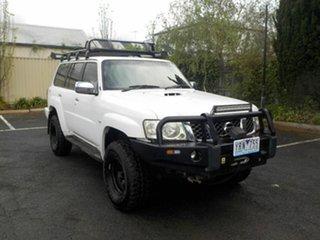 2008 Nissan Patrol GU VI TI (4x4) White 4 Speed Automatic Wagon.