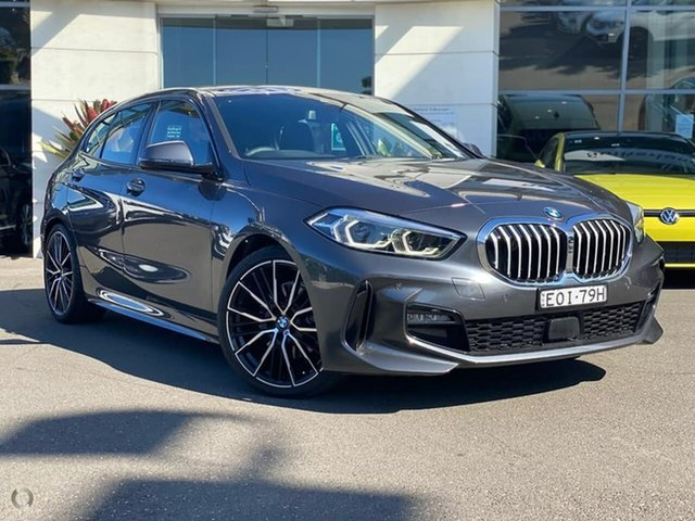 Used BMW 1 Series F40 118i DCT Steptronic M Sport Sutherland, 2020 BMW 1 Series F40 118i DCT Steptronic M Sport Grey 7 Speed Sports Automatic Dual Clutch