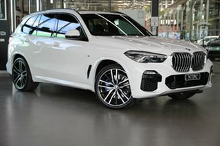 2019 BMW X5 G05 xDrive30d Steptronic M Sport White 8 Speed Sports Automatic Wagon.
