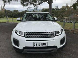 2017 Land Rover Range Rover Evoque L538 MY17 Pure White 9 Speed Sports Automatic Wagon.