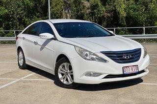 2012 Hyundai i45 YF MY11 Active White 6 Speed Automatic Sedan.