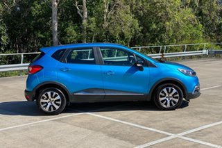 2015 Renault Captur J87 Expression Blue 6 Speed Automated Manual Wagon