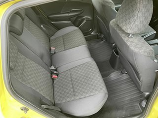 2015 Honda Jazz GF MY15 VTi Yellow 5 Speed Manual Hatchback