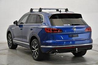 2019 Volkswagen Touareg CR MY19 190TDI Tiptronic 4MOTION Launch Edition Blue 8 Speed.